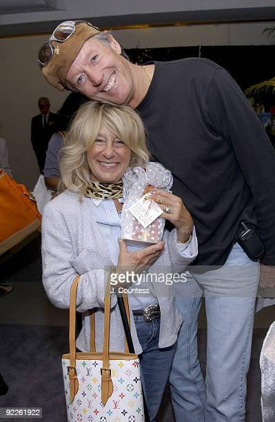 Peter Fonda and wife Becky Fonda with Bath Body Works Gift Collection