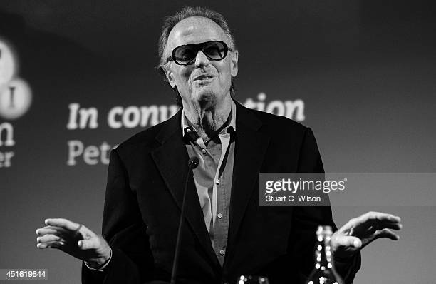Peter Fonda attends an 'Easy Rider' screening and QA session at The BFI Southbank on July 2 2014 in London England