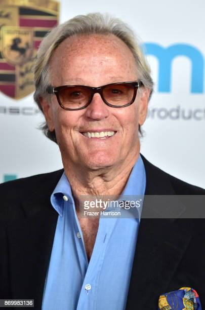 Peter Fonda attends Goldie's Love In For Kids at Ron Burkle's Green Acres Estate on November 3 2017 in Beverly Hills California