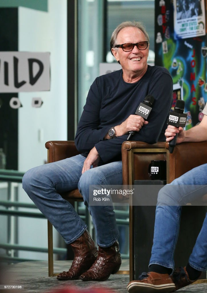 Peter Fonda attends the Build Series at Build Studio on June 12, 2018 in New York City.