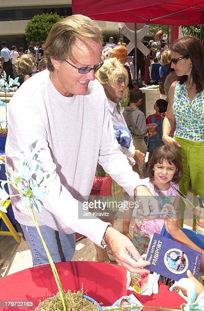 Peter Fonda during Destination Films premiere of Thomas the Magical RailroadTake A Magical Journey in Los Angeles California United States