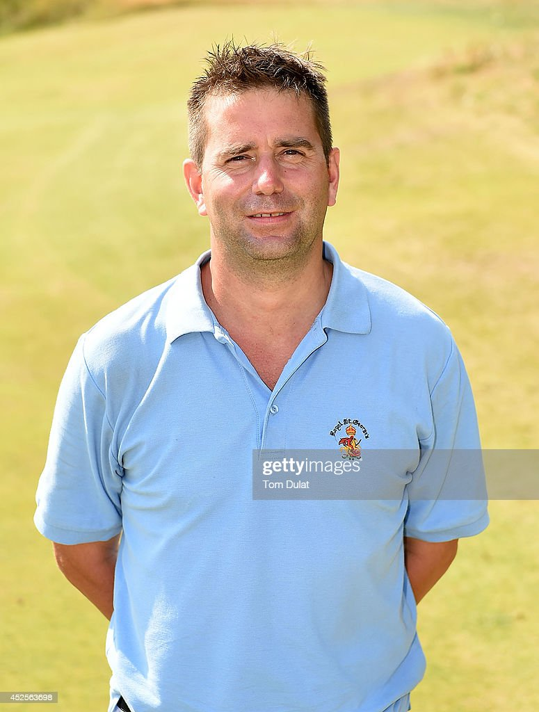 Peter Forster of Bath Golf Club poses for photographs after winning the Lombard Trophy West Regional Qualifier at Burnham and Berrow Golf Club on July 23, 2014 in Burnham-on-Sea, England.