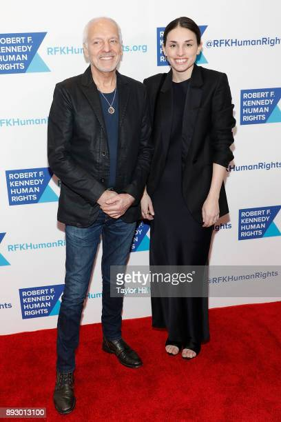 Peter Frampton attends the 2017 Ripple of Hope Awards at New York Hilton on December 13 2017 in New York City