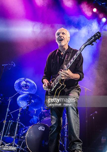 Peter Frampton opens for Deep Purple at Le Zenith on October 20 2013 in Paris France