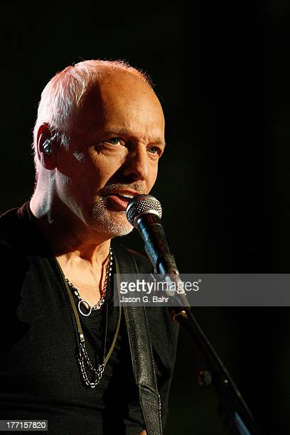 Peter Frampton performs at Red Rocks Amphitheatre on August 20 2013 in Morrison Colorado