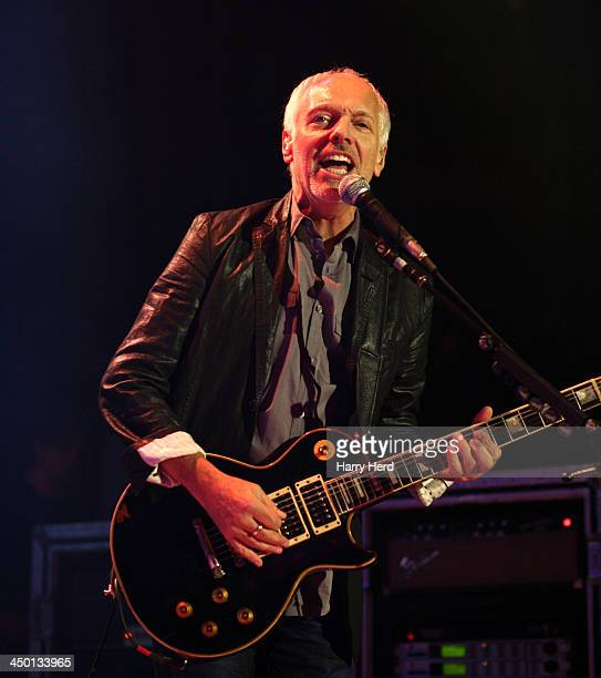 Peter Frampton performs on stage at The Roundhouse on November 5 2013 in London United Kingdom