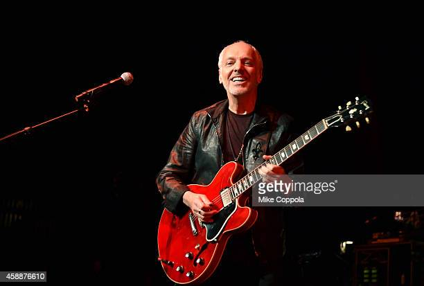 Peter Frampton performs onstage at One More For The Fans Celebrating the Songs Music of Lynyrd Skynyrd at The Fox Theatre on November 12 2014 in...