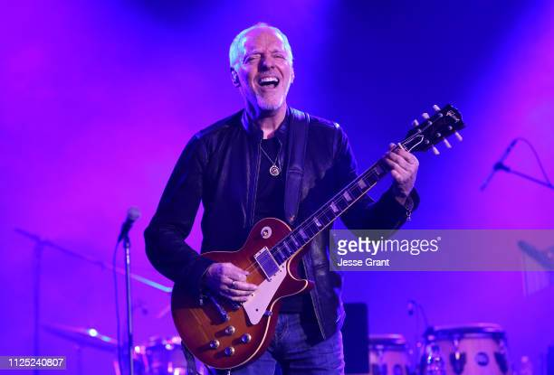 Peter Frampton performs onstage at the TEC Awards during the 2019 NAMM Show at the Hilton Anaheim on January 26 2019 in Anaheim California