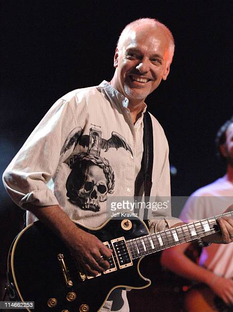 Peter Frampton performs with Guster during 6th Annual Jammy Awards Show and Backstage at The Theater at Madison Square Garden in New York City New...