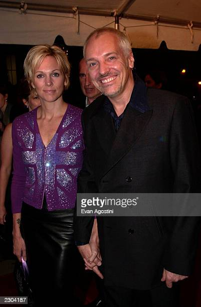Peter Frampton with wife at the premiere of Almost Famous at the 25th Toronto International Film Festival on 9/8/00 Photo by Evan Agostini/ImageDirect