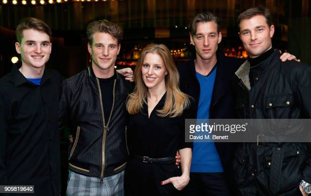 Peter Framton Roger Frampton Gloria Frampton Joel Frampton and David Frampton attend The Flexible Body book launch hosted by Roger Frampton at the...