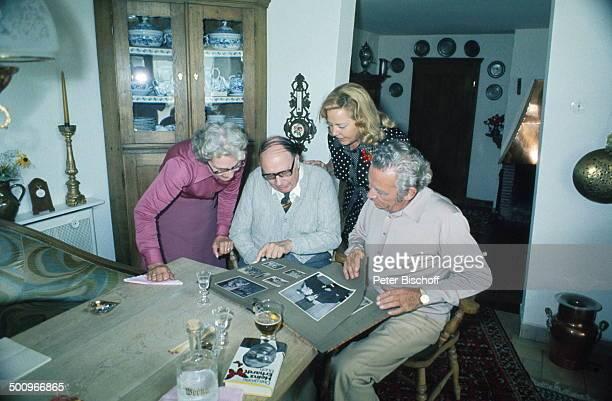 Peter Frankenfeld Ehefrau Lonny KellnerFrankenfeld Heinz Erhardt Ehefrau Gilda Feier zum 65 Geburtstag von Peter Frankenfeld Homestory Hamburg...