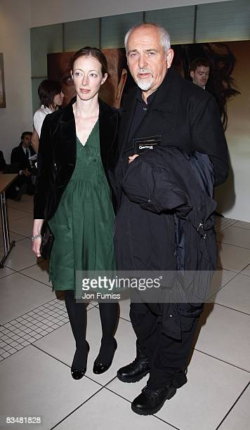 Peter Gabriel and his wife Meabh Flynn attends the world premiere of 'Quantum of Solace' at Odeon Leicester Square on October 29, 2008 in London,...