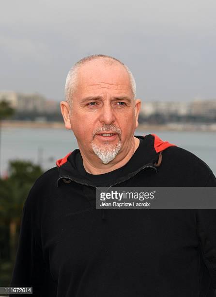 Peter Gabriel during MIDEM 2004 Peter Gabriel Photocall at Palais des Festivals in Cannes France