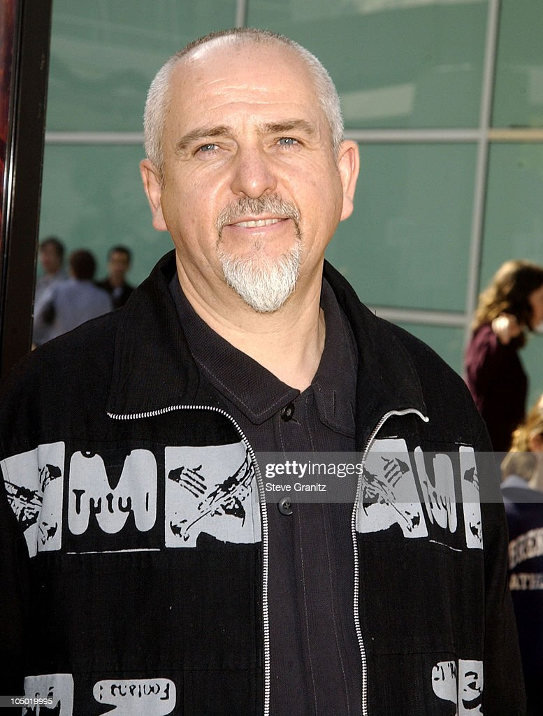 Peter Gabriel during 'The Wild Thornberrys Movie' Premiere at Cinerama Dome in Hollywood, California, United States.