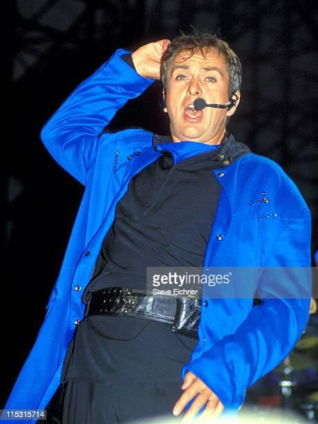 Peter Gabriel during Woodstock '94 in Saugerties, New York - August 1994 in Saugerties, New York, United States.