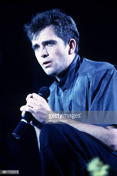 Peter Gabriel in concert circa 1986 in New York City