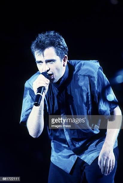 Peter Gabriel in concert circa 1986 in New York City
