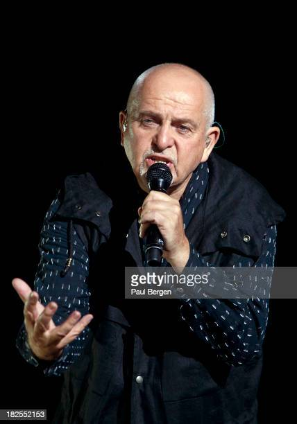 Peter Gabriel performs at Ziggo Dome on September 30 2013 in Amsterdam Netherlands