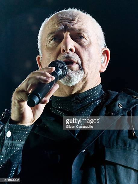 Peter Gabriel performs during 'Back To Front' Tour at Wells Fargo Center on September 21 2012 in Philadelphia Pennsylvania