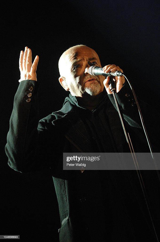 Peter Gabriel In Concert : Nachrichtenfoto