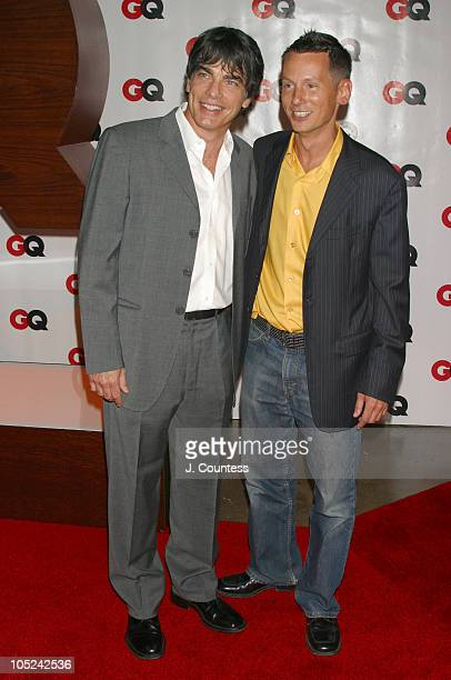 Peter Gallagher and Jim Nelson during GQ Celebrates September Debut Issue Under New Editor and Chief Jim Nelson at Hudson Studios in New York New...