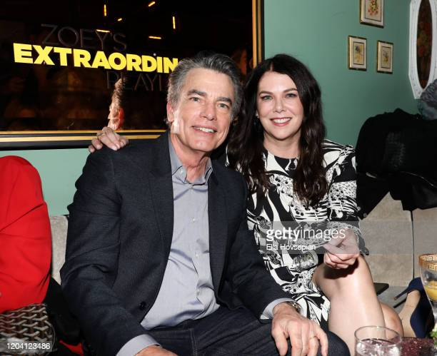 Peter Gallagher and Lauren Graham at Tramp Stamp Granny's on February 04 2020 in Los Angeles California