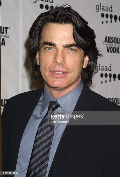 Peter Gallagher during The 13th Annual GLAAD Media Awards - New York - Arrivals at New York Marriott Marquis in New York City, New York, United...