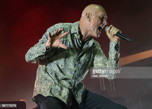 Peter Garrett from Midnight Oil performs at the Fremantle Arts Centre on October 29 2017 in Fremantle Australia