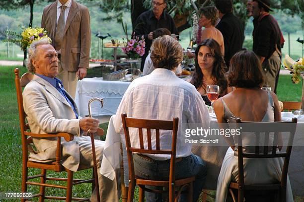 Peter Gavajda Sigmar Solbach Patricia Wolff Gerit Kling Dreharbeiten zum ARDFilm Am Kap der Liebe Unter der Sonne Uruguays alter Titel Das Lied der...