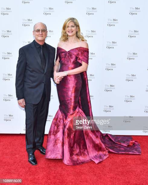 Peter Gelb and KeriLynn Wilson attend The Metropolitan Opera Opening Night Gala SaintSaens' 'Samson et Dalila' at Lincoln Center on September 24 2018...