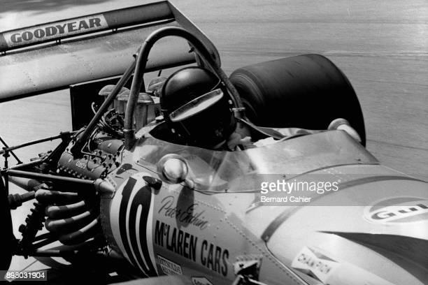 Peter Gethin McLarenFord M14A Grand Prix of Monaco Circuit de Monaco 23 May 1971