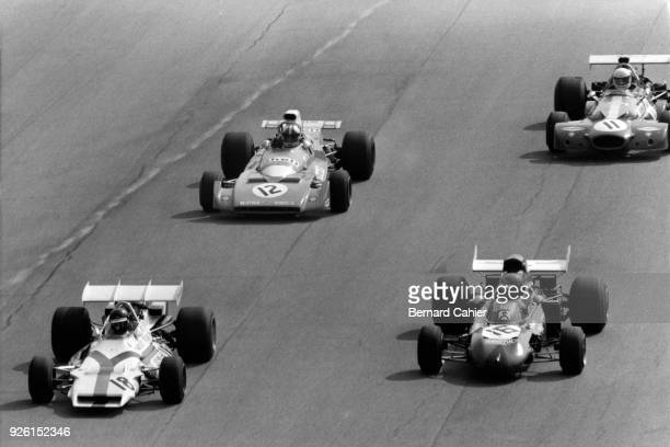 Peter Gethin, Ronnie Peterson, Chris Amon, Tim Schenken, BRM P160, March-Ford 711, Matra MS120B, Brabham-Ford BT33, Grand Prix of Italy, Autodromo...
