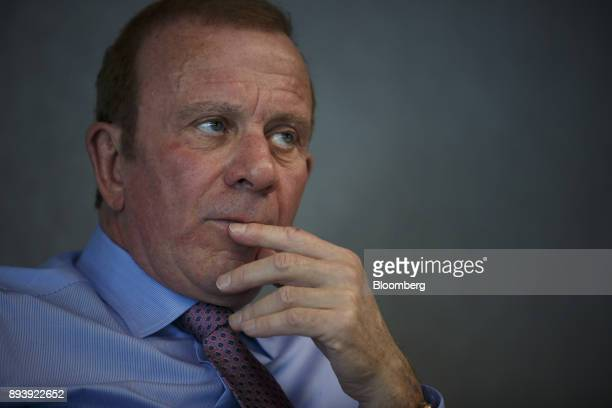 Peter Gilgan chief executive officer of Mattamy Homes Ltd listens during an interview in Toronto Ontario Canada on Wednesday Dec 13 2017 About...