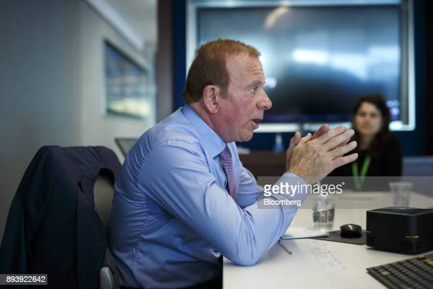 Peter Gilgan chief executive officer of Mattamy Homes Ltd speaks during an interview in Toronto Ontario Canada on Wednesday Dec 13 2017 About...