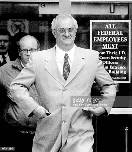 Peter Gotti leaves Federal Court