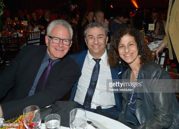 Peter Graham Michael Zilkha and Nadia Zilkha attend The Turtle Conservancy's 4th Annual Turtle Ball at The Bowery Hotel on April 17 2017 in New York...
