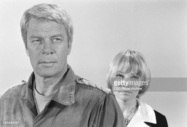 Peter Graves as Jim Phelps and May Britt as Eva in The Numbers Game Image dated July 11 1969