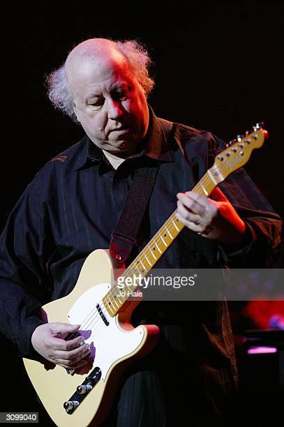 """Peter Green, co founder of Fleetwood Mac performs at the """"One Generation 4 Another"""" show on March 15, 2004 at the Royal Albert Hall, in London. The..."""