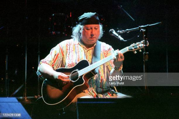 Peter Green is performing at the Fillmore Auditorium in San Francisco, California on Circa 2002.
