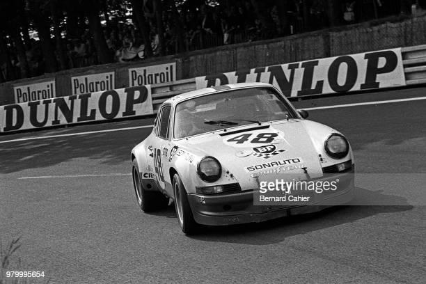 Peter Gregg Porsche 911 Carrera RSR 24 Hours of Le Mans Le Mans 10 June 1973