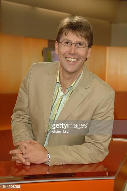 Peter Großmann Journalist D Moderator des ARD Morgenmagazins