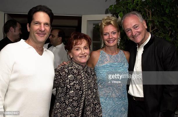 Peter Guber wife Tara Lynda Guber Richard Celeste former Ambassador to India and wife Jacqueline Lundquist