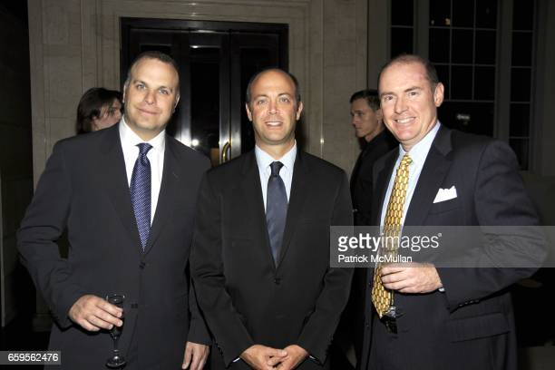 Peter guest David Sauls and Roger Noble attend Gwyneth Paltrow and VBH's Bruce Hoeksema Host Cocktail Party for Valentino The Last Emperor at VBH on...