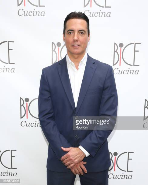 Peter Guimaraes attends Bice Cucina Restaurant Opening on June 13 2018 in New York City