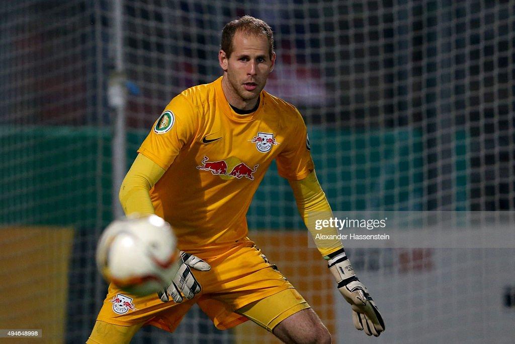 SpVgg Unterhaching v RB Leipzig  - DFB Cup