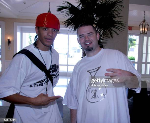 Peter Gunz and Paul Wall during 2005 Power Summit at Westin Hotel in Freeport Bahamas