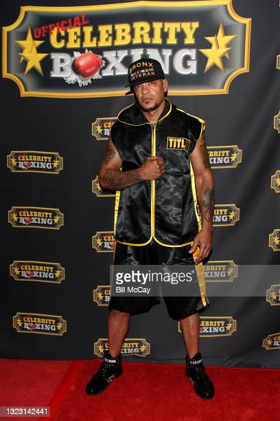 Peter Gunz attends the Celebrity Boxing Match between Lamar Odom and Aaron Carter at Showboat Atlantic City on June 11, 2021 in Atlantic City, New...