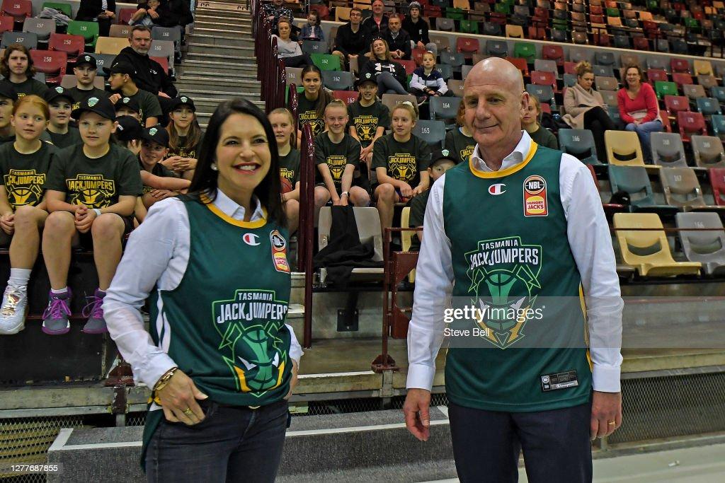 Tasmania JackJumpers Media Opportunity : News Photo