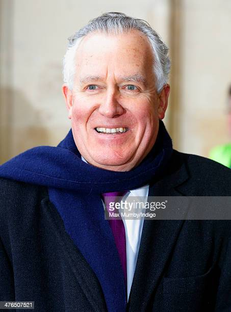 Peter Hain attends a National Service of Thanksgiving to celebrate the life of Nelson Mandela at Westminster Abbey on March 3 2014 in London England